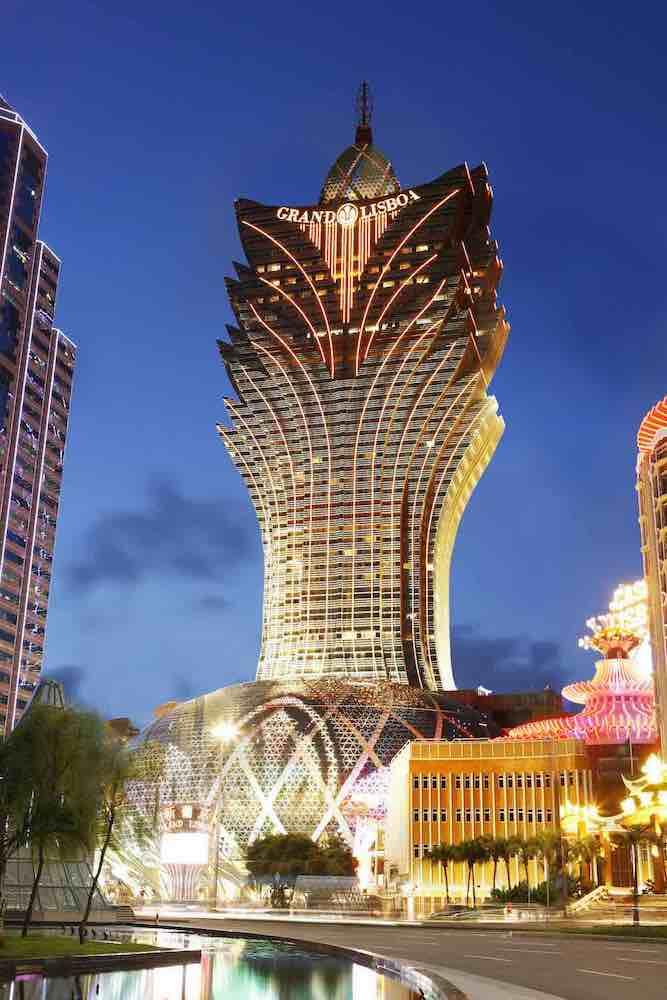 Grand Lisboa macau mooiste casino's ter wereld