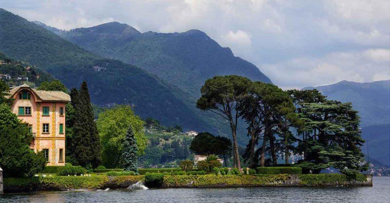 comomeer autorondreis door Noord Italië
