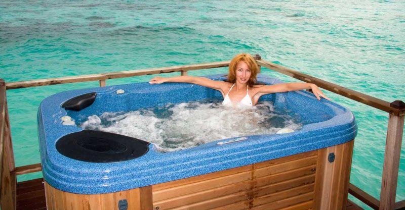 vakantiehuis met jacuzzi bij de zee